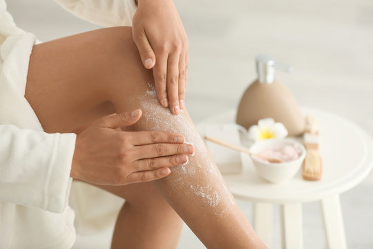 exfoliate after a day of shaving