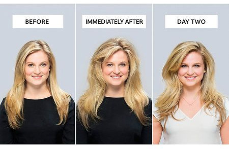 from flat to thick hair