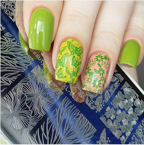 nature and lime green