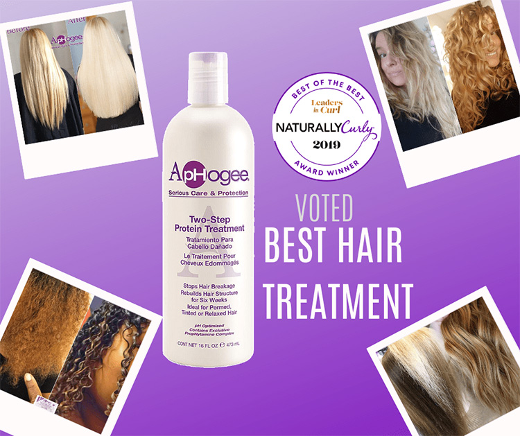 ApHogee voted for best hair treatment