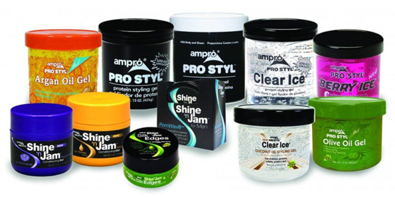 is ampro gel bad for your hair