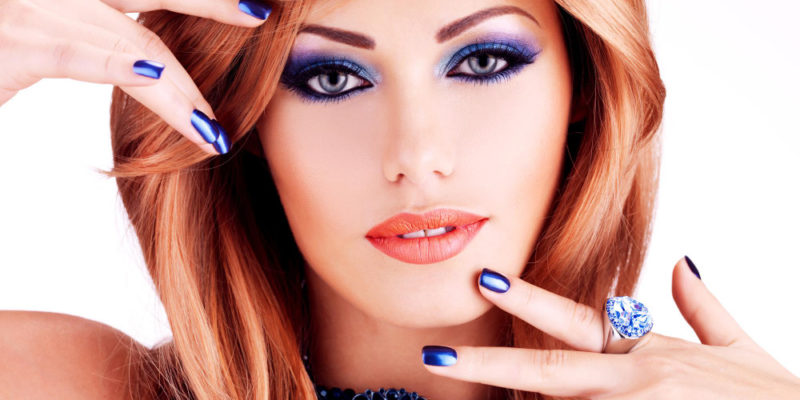 7 blue nail polish designs to boost your skill base