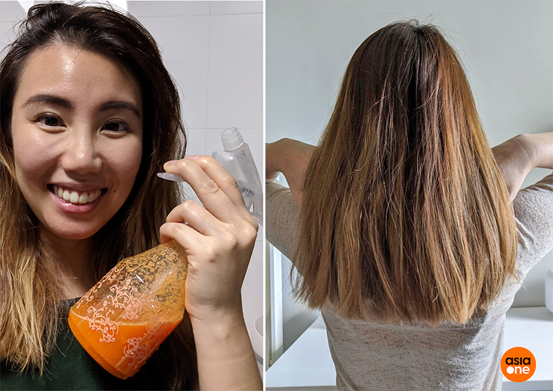 use carrot juice to dye your hair