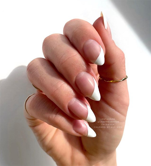 French Nails with a Twist
