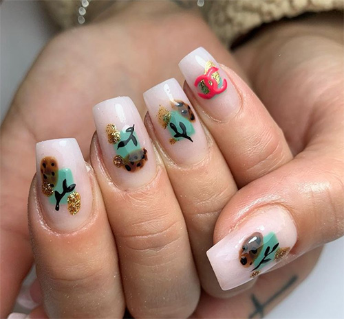 Nature Inspired Nails