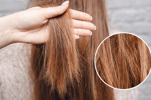 ends of hair