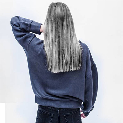 loss of hair color