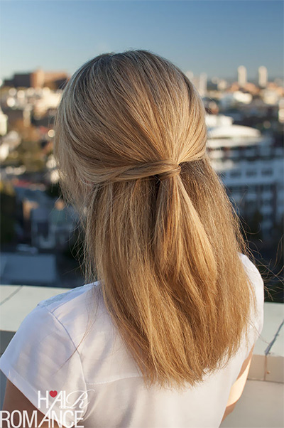 tie or braid your hair