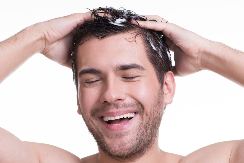 how to wash hair without a shower or sink